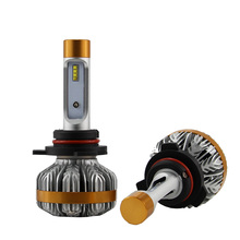 1 Set 9012 HIR2 50W 6000LM Z7 LED Headlight LUMILED LUXEON ZES 16LED Chips Built in