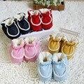 Sapato doce Sapatos Berço Do Bebê Sono Infantil outono inverno grossas de algodão recém-nascidos da criança sapatos Quentes para o miúdo cama dormindo 0-3months