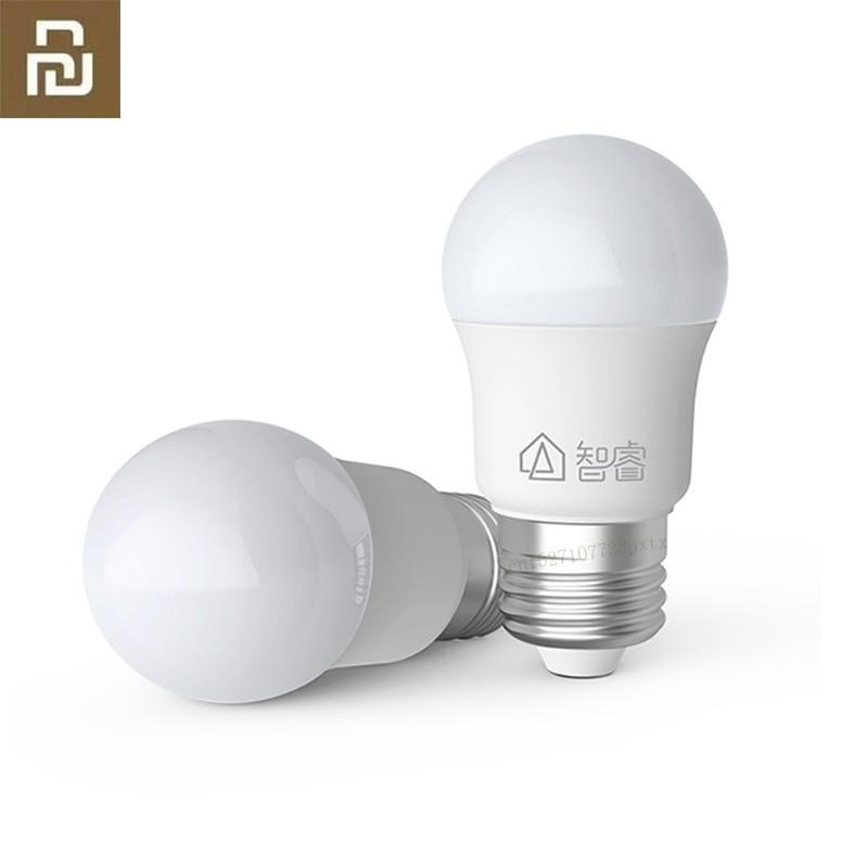 Original Xiaomi Mijia LED Bulb E27 White 5W Light 6500K LED for Mijia Home Energy-saving Light Bulbs