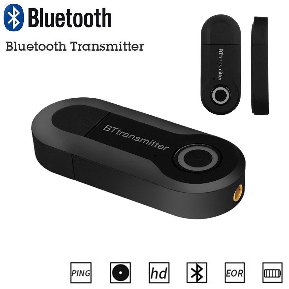 Neue Kommende 3,5mm Mini Wireless Stereo Bluetooth Transmitter Musik Adapter Musik Zu Telefon Tv Pc Kopfhörer Lautsprecher Funkadapter Unterhaltungselektronik