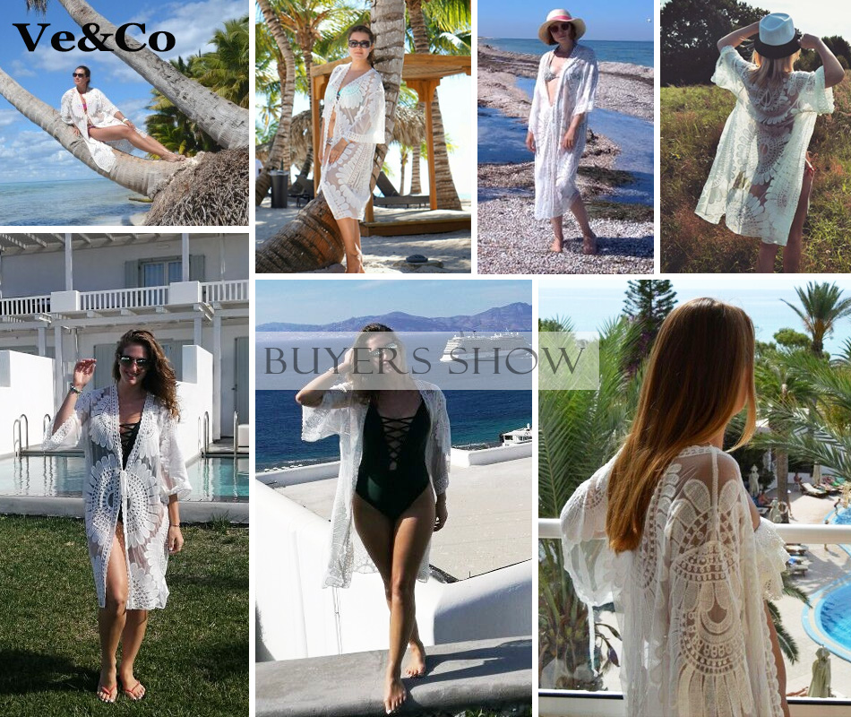 502cbdd978c5c Pareo Beach Cover Up Embroidery 2018 New Bikini Cover Up Robe De Plage  Summer Beach Wear Cardigan Dress Women Swimsuit Cover Ups-in Cover-Ups from  Sports ...