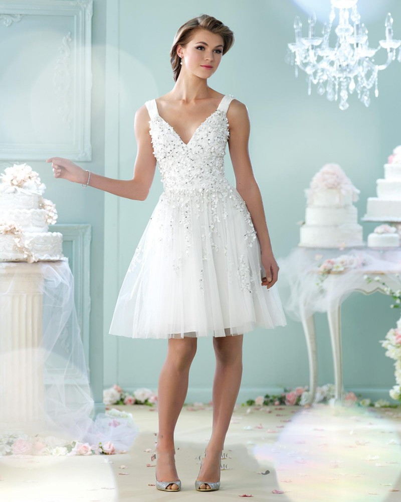 Magnificent Short Country Wedding Dresses Vignette - All Wedding ...