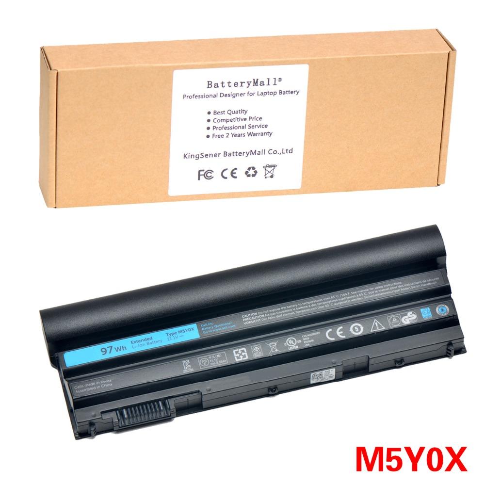 Prix pour 11.1 V 97WH Corée Cellulaire D'origine Nouveau M5Y0X Batterie D'ordinateur Portable pour DELL Latitude E6420 E6520 E5420 E5520 E6430 71R31 NHXVW T54FJ 9 CELLULAIRE