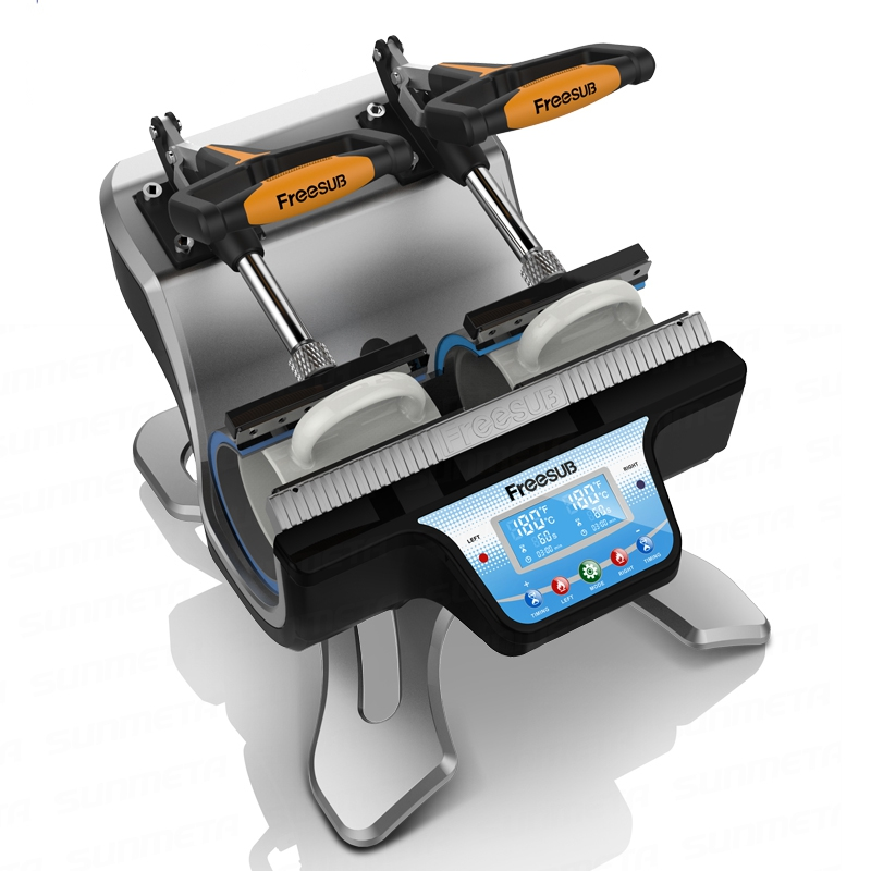 ST-210 MINI Double-station Thermal Mug Transfer Machine Mug Heat Press Machine Digital Mug Printer 2016 digital mug photo heat transfer printing machine