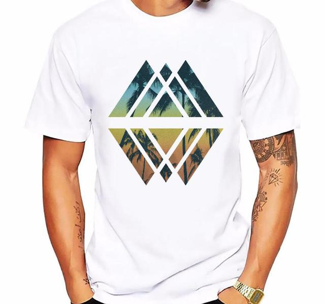 Men's t-shirt new casual short-sleeved Summer Retro Style Synthwave Graphic Logo Design printing t shirt men cotton comfortable  5