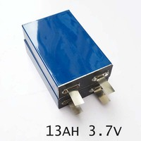 3pcs 3 7v Lipo Rechargeable Li Polymer Battery Cell 13Ah For 12V Battery Pack DIY E