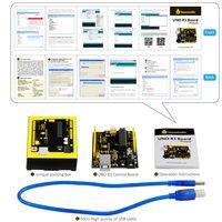 2014 The Latest Version UNO R3 Development Board FOR Arduino Improved Version Send USB Line And