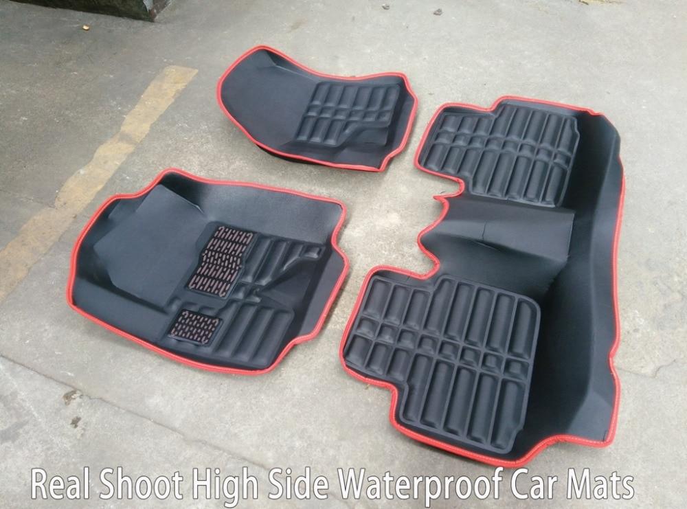 SUNNY FOX Car floor mats for Cadillac ATS CTS XTS SRX SLS Escalade 5D car-styling all weather carpet floor linerSUNNY FOX Car floor mats for Cadillac ATS CTS XTS SRX SLS Escalade 5D car-styling all weather carpet floor liner