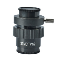 Discount! SZM 1/2 CTV Stereo Microscope Camera CCD Mounting Adapter