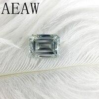 AEAW 3 карат 7x9 мм светло голубой цвет сертифицированных человек сделал Diamond свободные изумруд Муассанит бисера Тесты как положительные насто