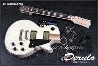 DIY Electric Guitar Kit Bolt In Solid Mahogany Body & Neck MX033