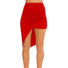 MSAISS, летняя женская юбка, сексуальная, с завязками на талии, драпированная, Женская юбка, с вырезами, асимметричный карандаш, юбки