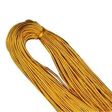 Jewelry-Accessories Purl-Cord Yarn Macrame Yellow Bracelet Rope Earrings-String Golden