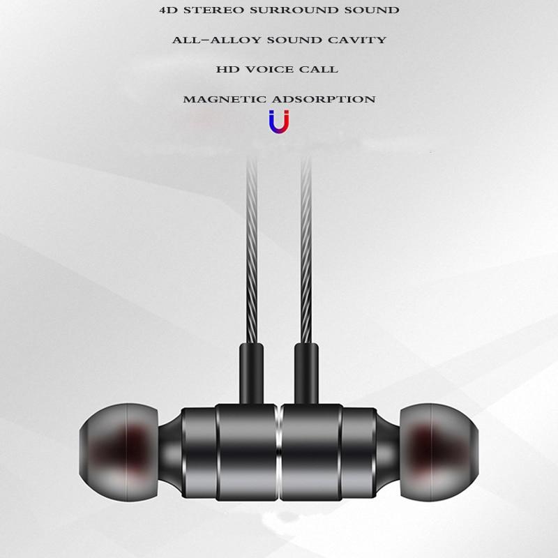 Оригинальный HC062 10 мм динамический блок наушники Металл bass Наушники Магнитная гарнитура с микрофоном для смартфона игр mp3 музыка