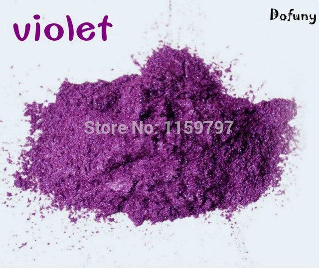 Violeta mica/efecto perla pigmento, esmalte de uñas pigmento, DIY ...