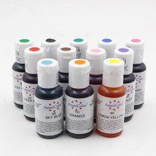 AmeriColor Soft Gel Paste Food Color Food Coloring Fondant Cake Cookie Multi Colours Cake Tools Macaron Bakery Colors 1 PCS 21G
