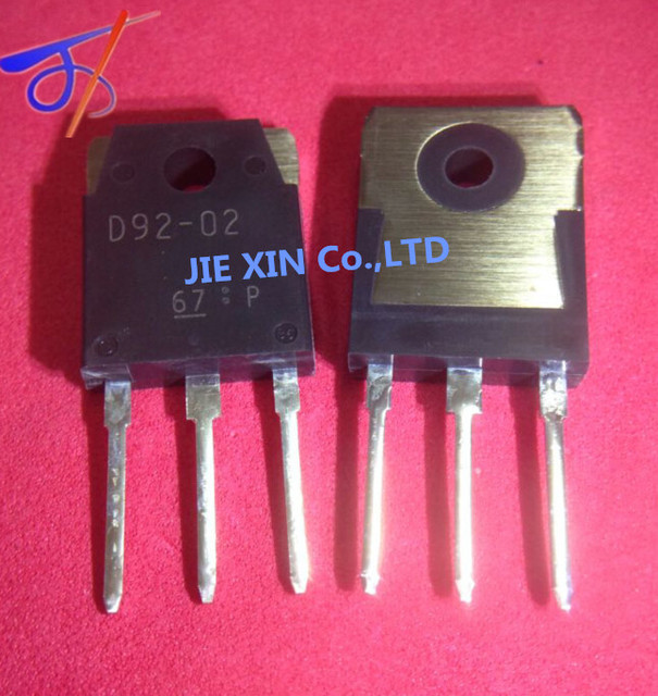 40pieces / lot D92 02 TO 3P 20A200W triode transistor audion