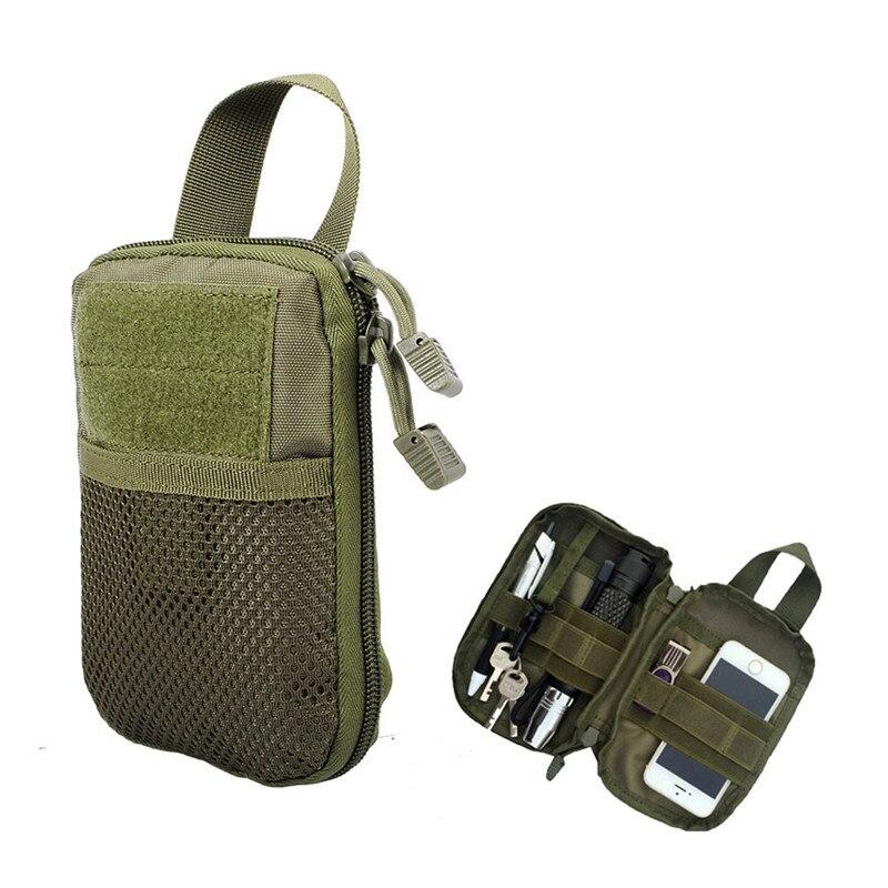 1000D askeri naylon EDC kılıfı Molle örgü araçları aksesuar torbalar açık avcılık bel çantaları çok amaçlı depolama cep