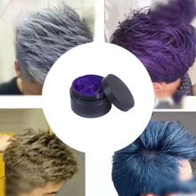 Cute Non-Toxic Pastel Temporary Hair Coloring Wax