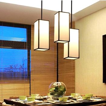 Nouveau Style Chinois Pendentif Lumière Moderne Salle à Manger Chambre Chevet Restaurant Hôtel Club éclairage Lampes ZA10