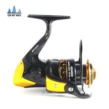 2016 New AD2000 - 9000 Series Metal Spool Spinning Reel Fish Salt Water Fishing Reel Pesca Wheel 12+1 Ball Bearing 5.5:1