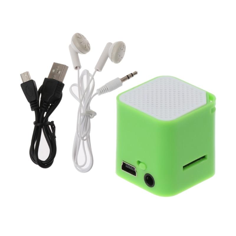 1 Stück Mini Tragbare Lautsprecher Tf/sd Mp3 Musik Player Subwoofer Mit 3,5mm Kopfhörer Port Mp3-player Tragbares Audio & Video