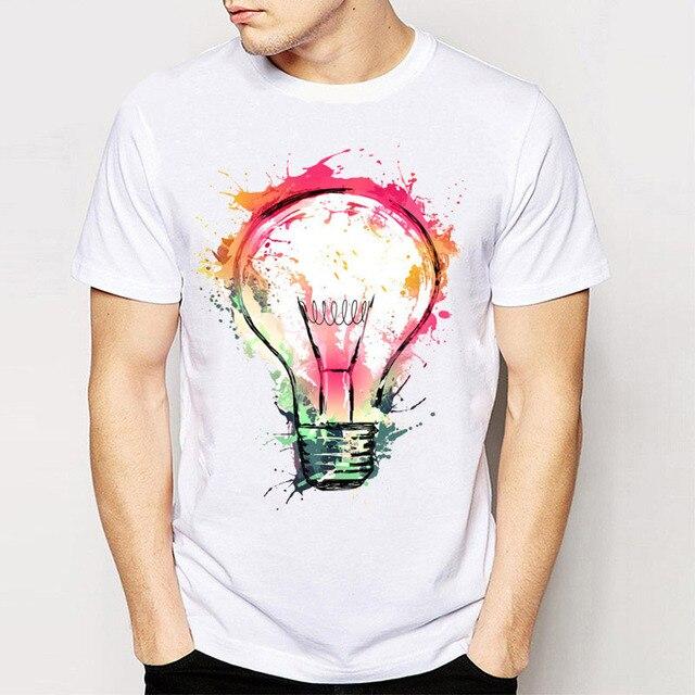 Hot Sale New Rock Punk Men Tees T Shirts Splash Ideas Novelty ...