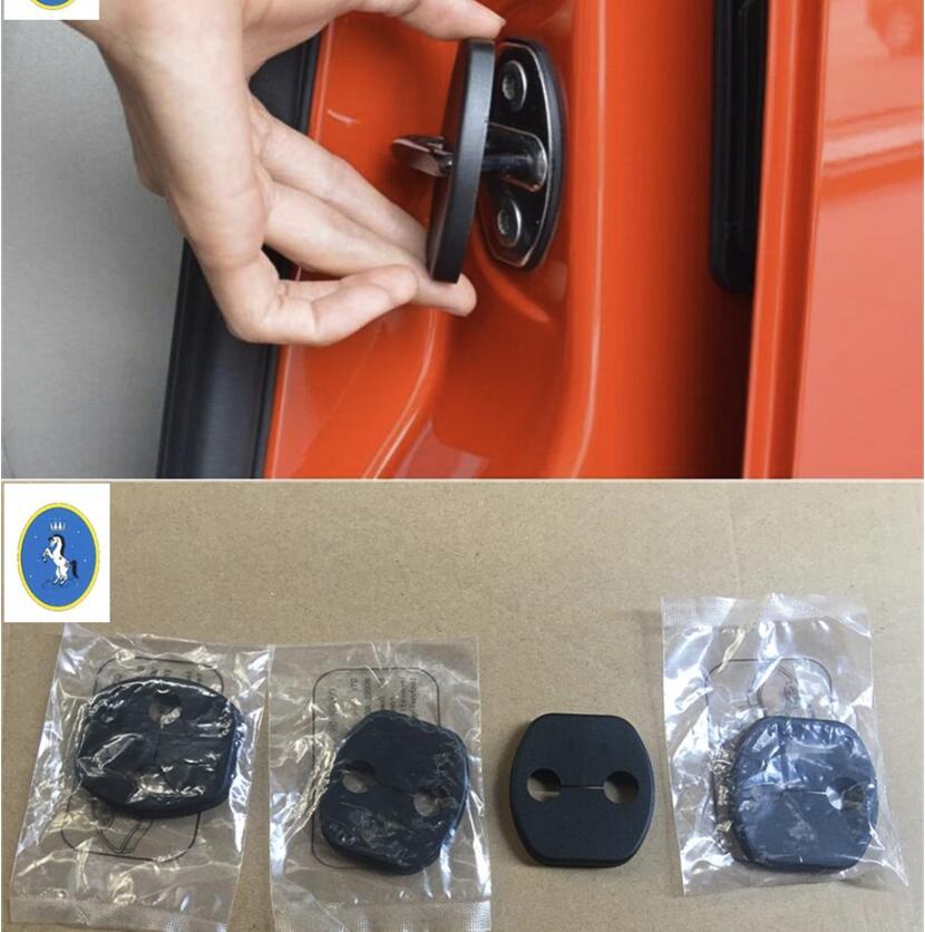 2018 Nissan Altima Interior: Yimaautotrims Plastic Inner Car Door Lock Cover Buckle
