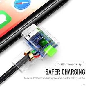 Image 5 - Mcdodo Cable USB de carga rápida para móvil, adaptador de Cable de luz LED para iPhone X, 8, 7, 6s, 5 Plus