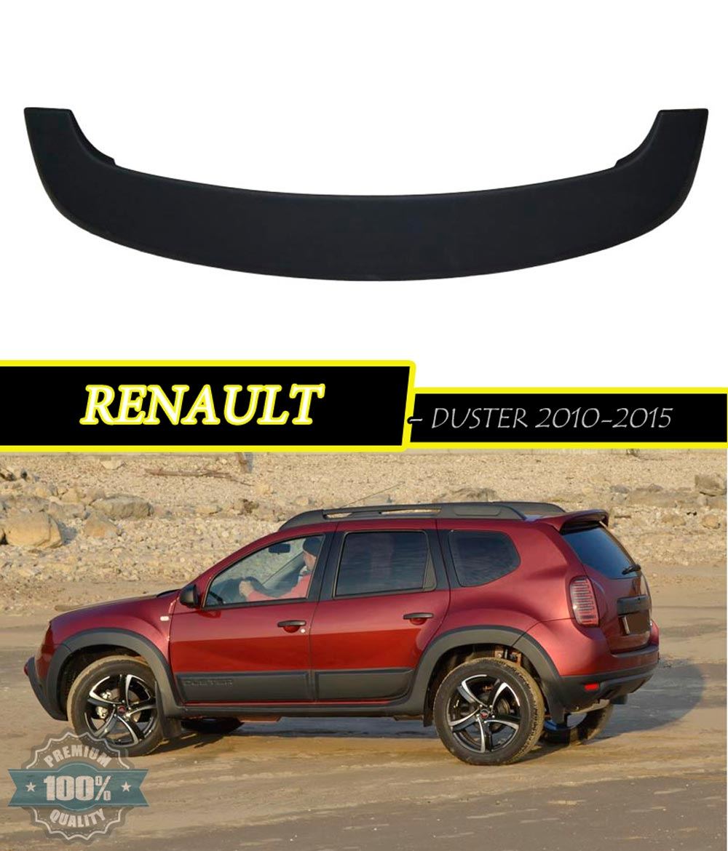 buy spoiler aerodynamic for renault duster 2010 2015 styling. Black Bedroom Furniture Sets. Home Design Ideas