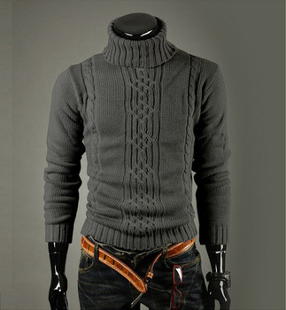 High Quality Casual Sweater Men Pullovers