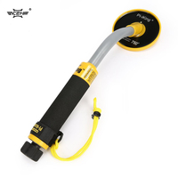 ACEHE New Metal Detector PI 750 Handheld Pulse Induction Underwater Waterproof Gold Coin Treasure Search Vibration Light Alarm