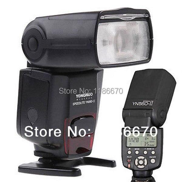 ФОТО Universal Flash Speedlite YN-560II For Nikon D80 D90 D600 D700 D700S D800 D800E D7100 D7000 D5000 D5200 D5100 D3100 D3200 D3000