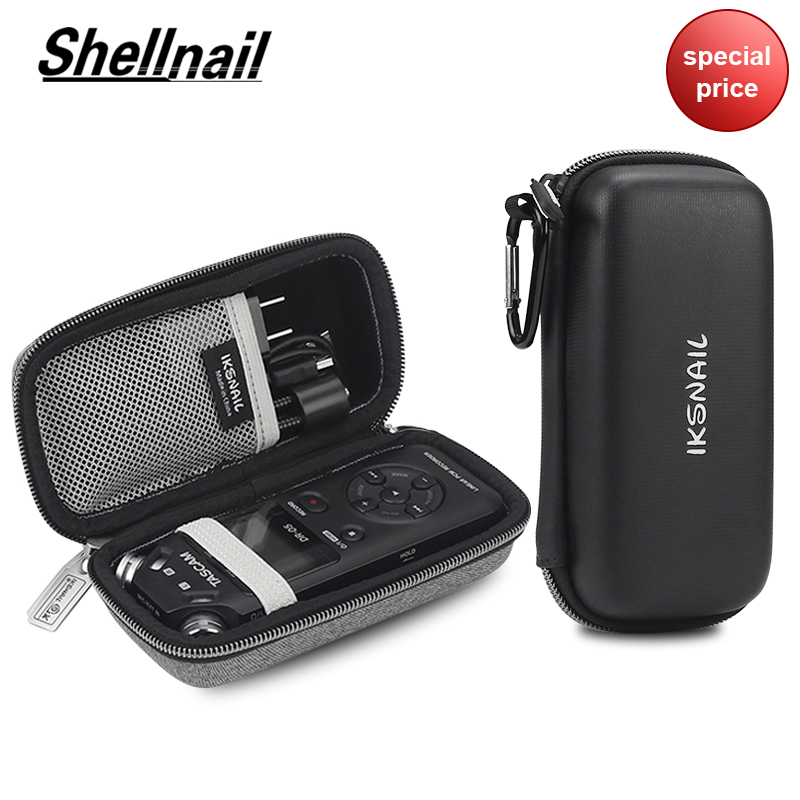 Shellnail Professional Protect Bag Storage Cover Carrying Recorder Case For TASCAM DR-05 Portable Digital Voice Recorders