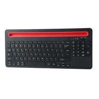 Ультра тонкий Беспроводной Bluetooth клавиатура с для Multi touch тачпад клавиатуры A8