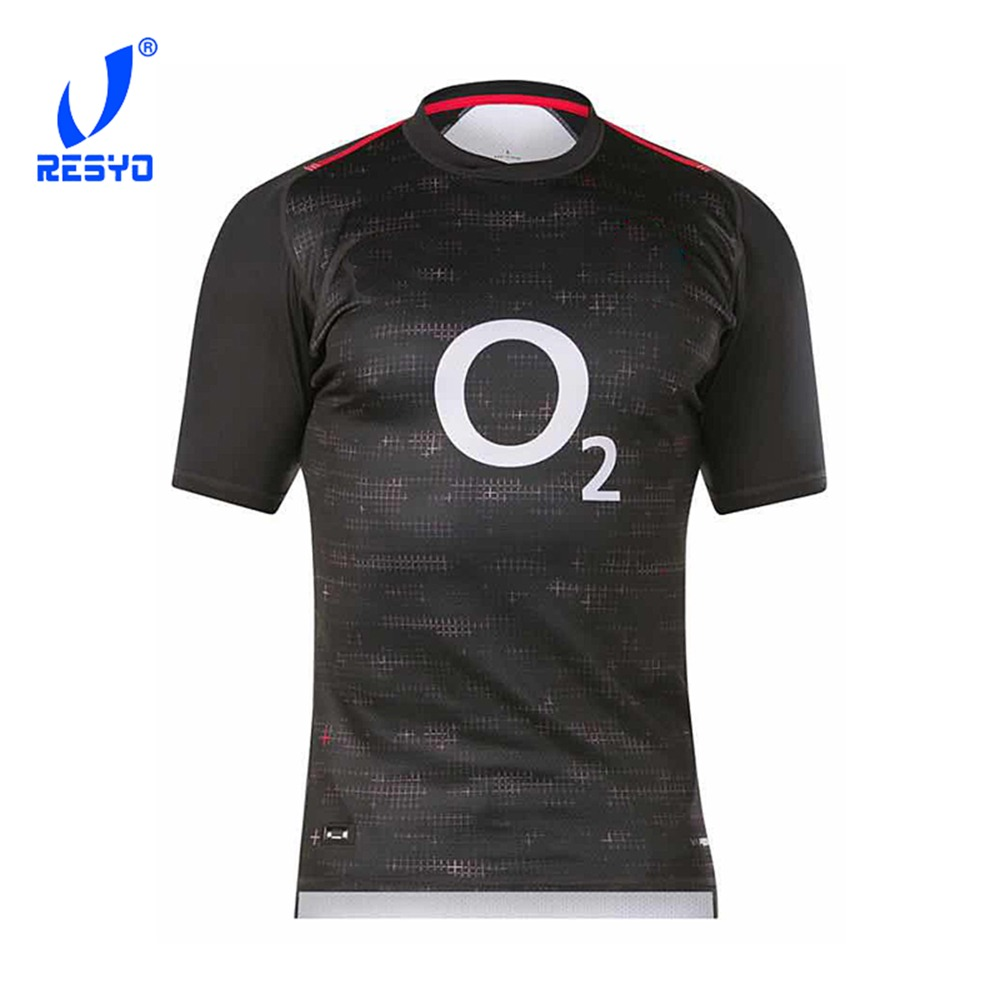 RESYO For 2019 England Replica Men's Home/Away RUGBY JERSEY Six Nations Sport Shirt Size:S-3XL Free Shipping