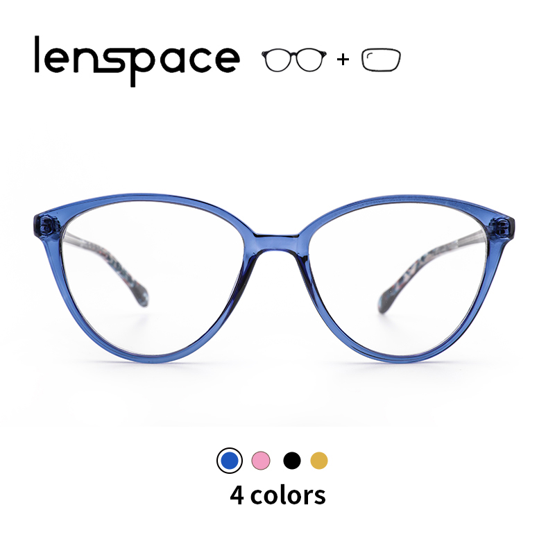 TR90 Glasses Frame Women Retro Clear Prescription Cat Eye Eyeglasses 2019 Ladies Spectacles Optical Frames Sexy Cateye Eyewear(China)