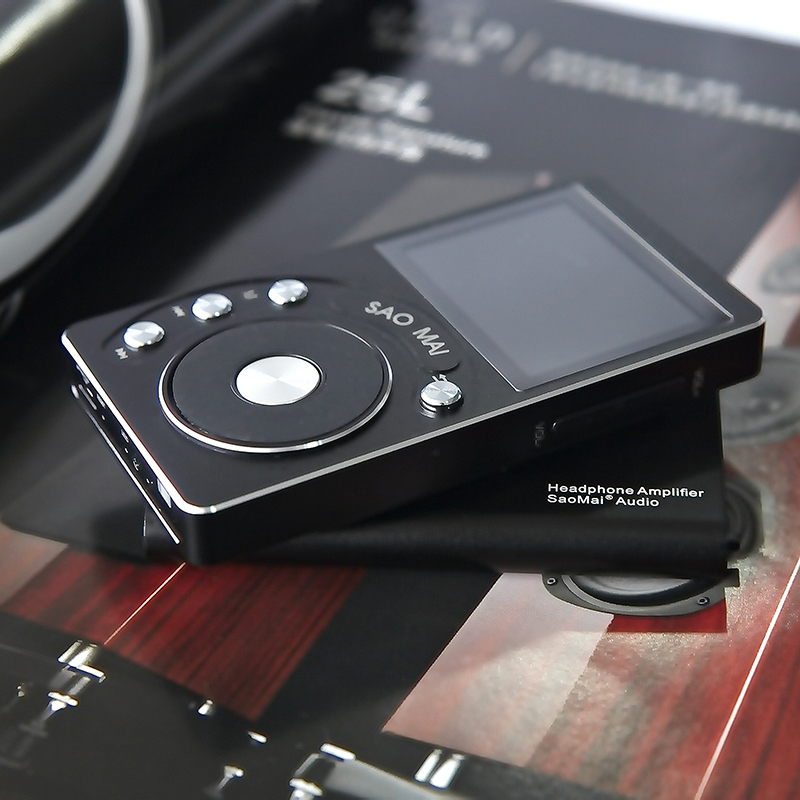 Saomai SM4 + 32G/8 GB HiFi Alta Resolución DAC ak4490 sin pérdida DSD Reproductores MP3 música digital con envío Amplificadores de auriculares