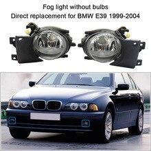 1 пара левый и правый передние противотуманные свет без замены ламп комплект для BMW E39 1999-2004 автомобильные аксессуары для укладки
