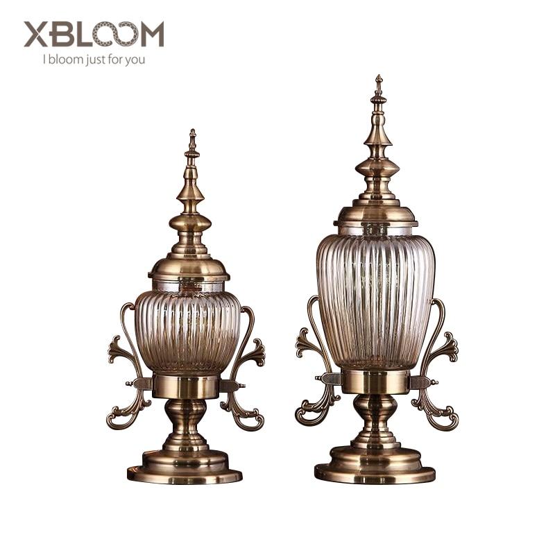 Européen américain géométrie rétro sculpté cristal verre vase pot de fleur stockage de fruits photophore statue maison mariage vase décor XO