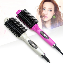 2 in 1 Brush Hair Straightener Professional Fast Hair Straightener Comb Electric Straightening Comb Hair Curler Iron New