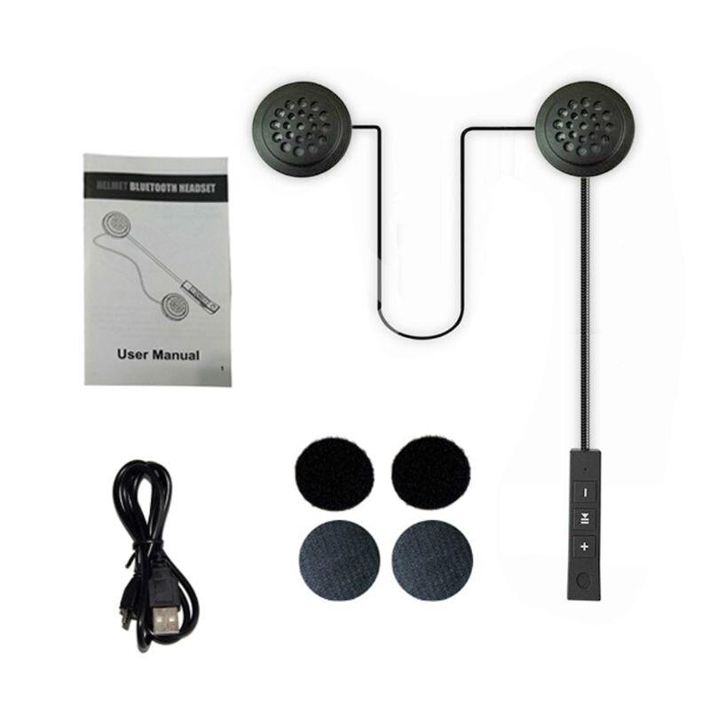 Anti-Interference Bluetooth Headphone Handsfree Music Headphone For Motorcycle Helmet Motor Riding