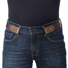 Buckle-Free Elastic Waistband Belt
