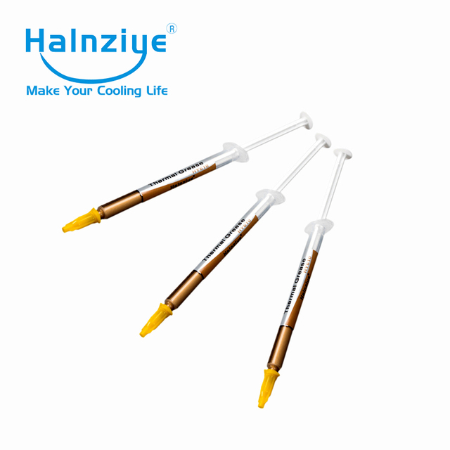 Gold conductive heat sink plaster Cooling Thermal Grease/Heatsink Compound/ Thermal Paste HY610 TU1g