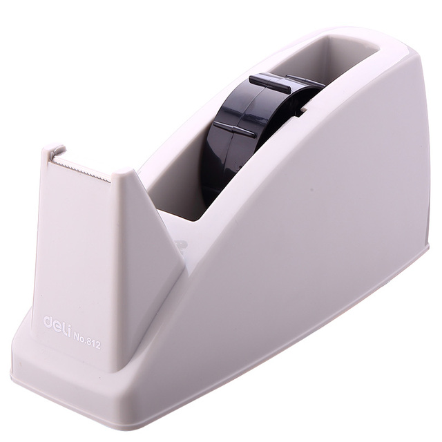 Deli Fashion Streamline Tape Dispenser Capable 812 Abs Cutter Oversized Creative Special For 24mm