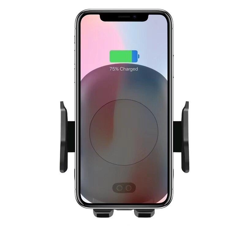 Capteur infrarouge Sans Fil Chargeur Téléphone Titulaire Évent De Voiture Support de Téléphone Pour iPhoneX 8 7 Plus Pour Samsung S6 S7 s8 S9 Note8 Note9