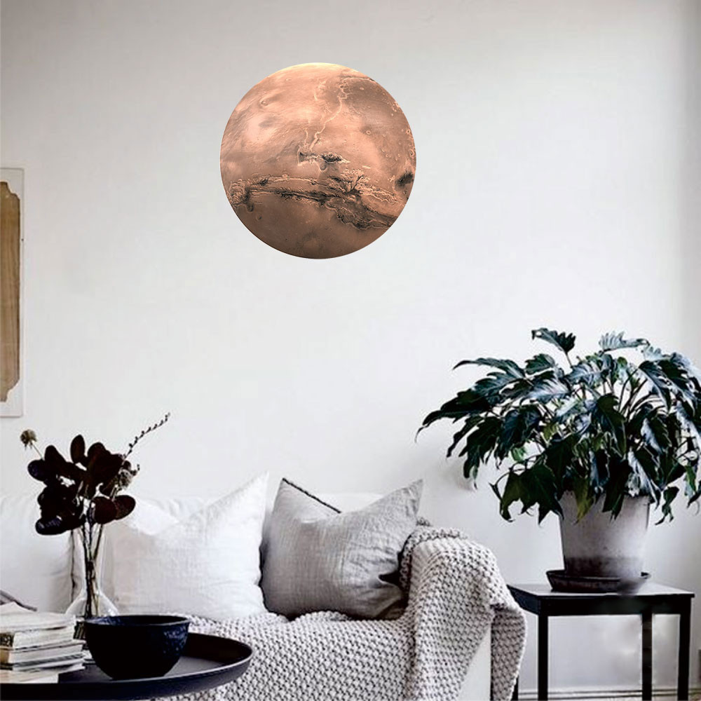 Solar System Planets 3D Fluorescent Wall Stickers
