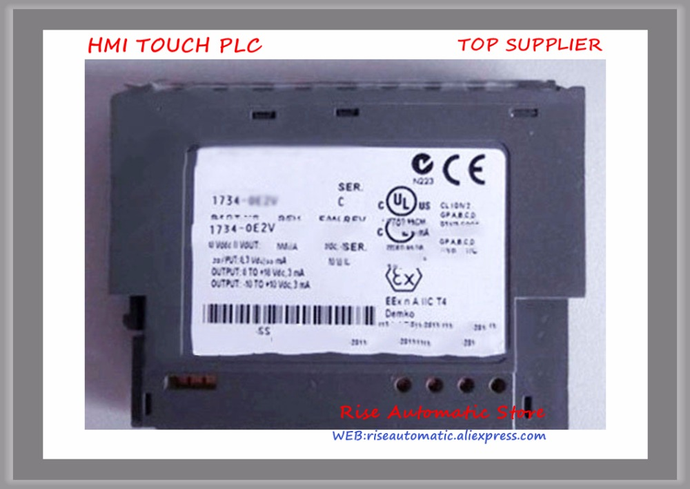 1746-FIO4V PLC New Original 55mA 2 Number of Inputs Analog Combination Modules plc 60ma 4 number of inputs thermocouple analog input module for 1746 nt4