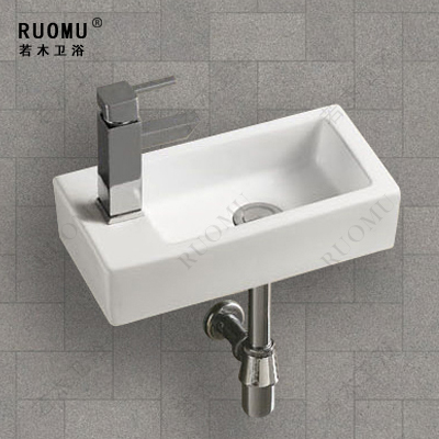 Bathroom small hanging pots wash basin art basin bathroom for Mini lavabo salle de bain
