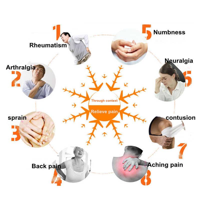 Huile essentielle pour les soins de santé médical analgésique camélia Patch essentiel auto-chauffant à base de plantes genou/cou/dos
